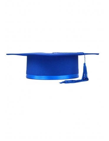 Toca absolvire albastru inchis