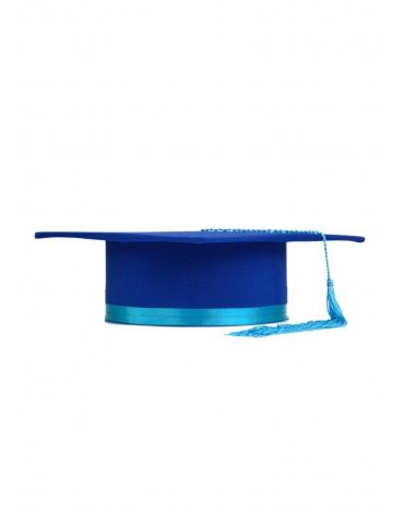 Toca absolvire albastru...