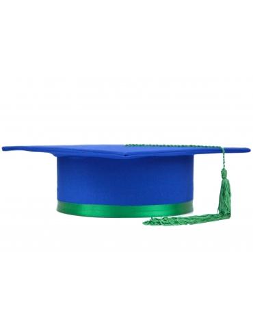 Light green blue graduation...