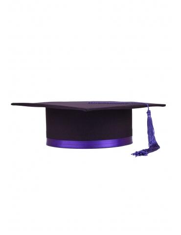 Toca absolvire dublu violet