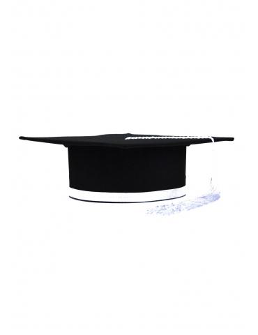 Toca absolvire negru alb