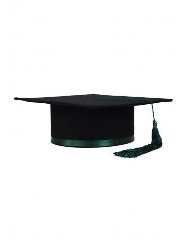 Toca absolvire negru verde...