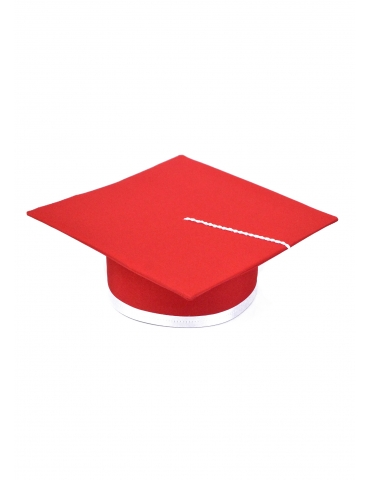 Toca absolvire rosu alb