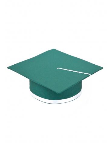 Toca absolvire verde alb