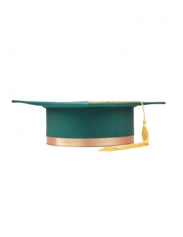Toca absolvire verde auriu