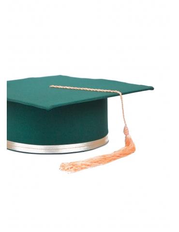 Toca absolvire verde corai