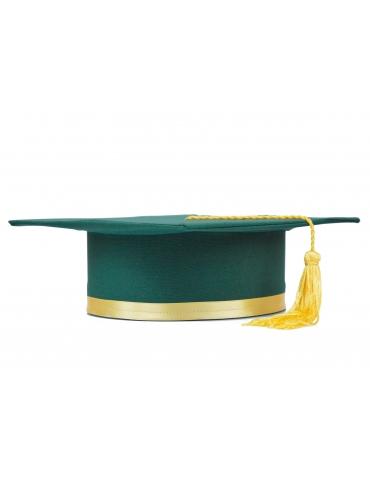Toca absolvire verde galben