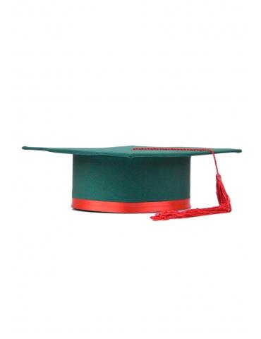 Toca absolvire verde rosu