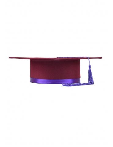 Toca absolvire visiniu violet