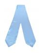 Light blue graduation scarf