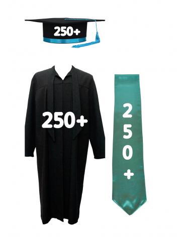 Pack PLUS 250+ cap, robe,...