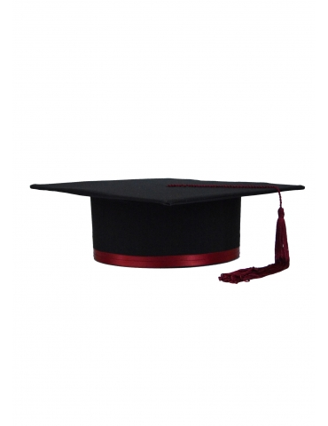 Toca absolvire neagru visiniu