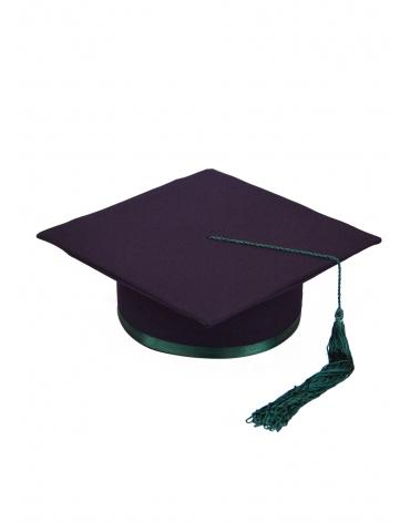 Toca absolvire violet verde...