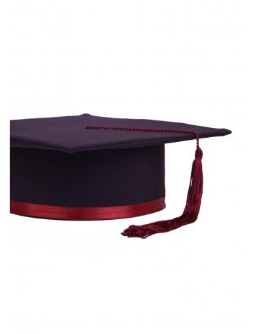 Toca absolvire violet visiniu
