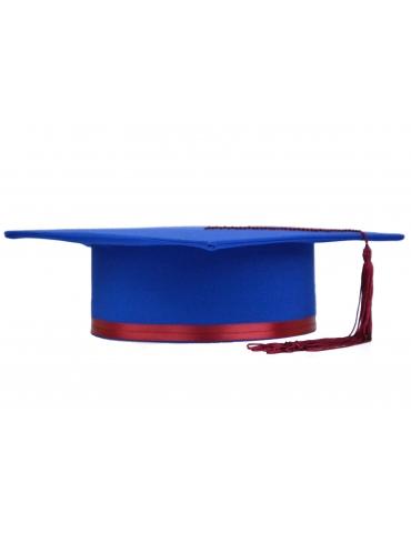 Cherry Blue Graduation Cap